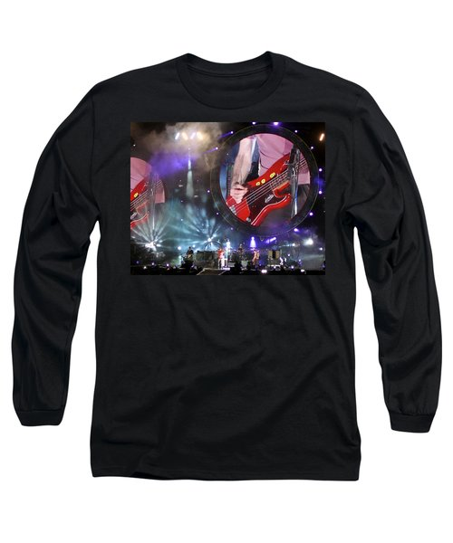 Coldplay - Sydney 2012 Long Sleeve T-Shirt by Chris Cousins