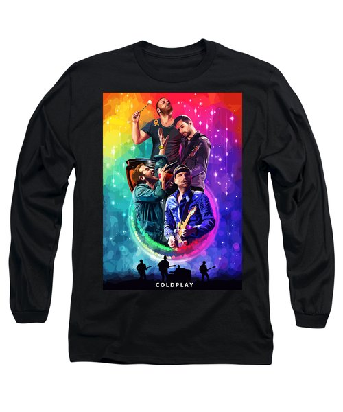 Coldplay Mylo Xyloto Long Sleeve T-Shirt