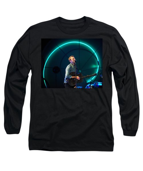 Coldplay Long Sleeve T-Shirt by Rafa Rivas