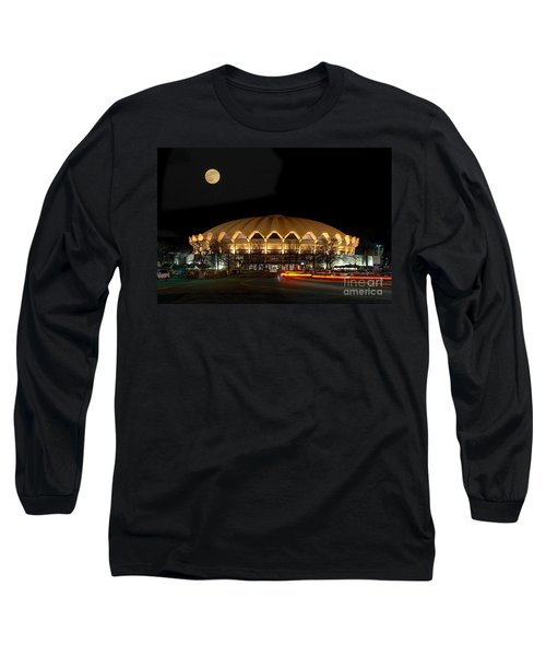Coliseum Night With Full Moon Long Sleeve T-Shirt