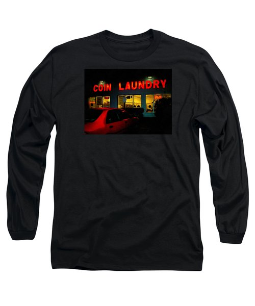 College Town Saturday Night Long Sleeve T-Shirt