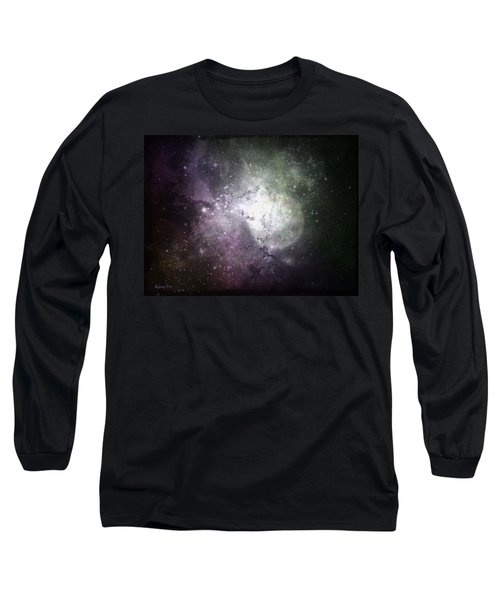 Collision Long Sleeve T-Shirt by Cynthia Lassiter