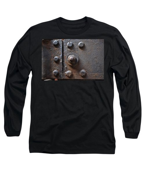 Color Of Steel 3 Long Sleeve T-Shirt