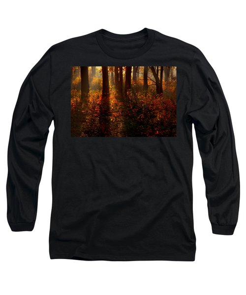 Color On The Forest Floor Long Sleeve T-Shirt
