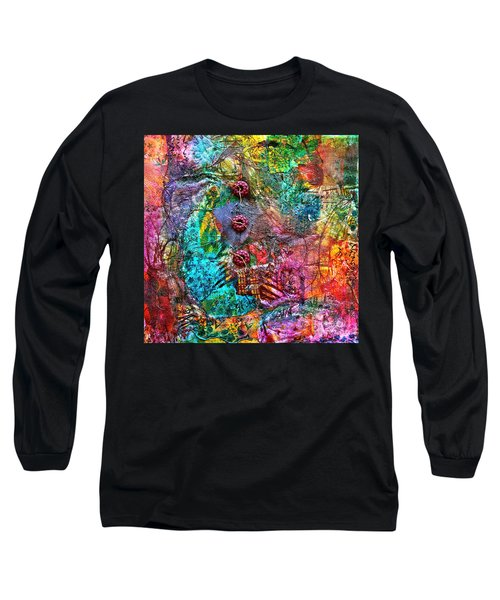 Color With Buttons Long Sleeve T-Shirt