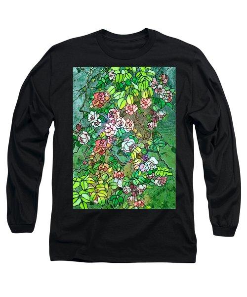 Colored Rose Garden Long Sleeve T-Shirt