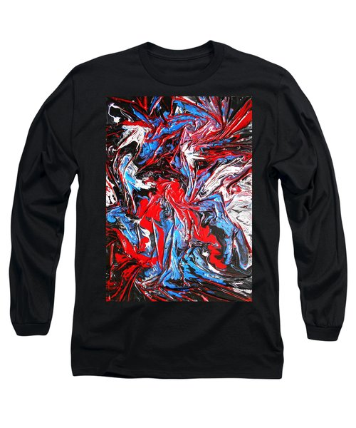 Colorful Chaos Long Sleeve T-Shirt