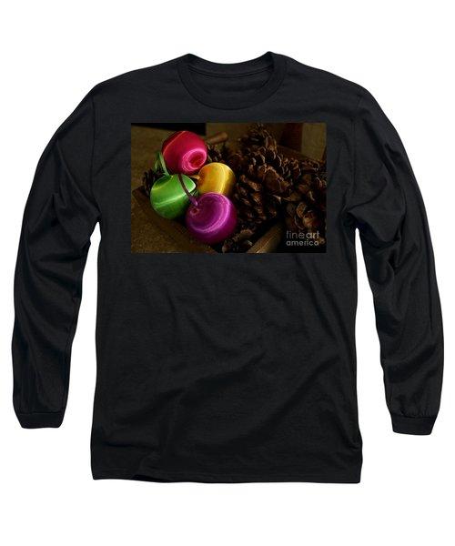 Colorful Christmas Balls Long Sleeve T-Shirt