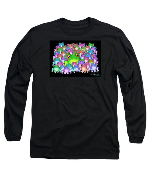 Colorful Froggy Family Long Sleeve T-Shirt