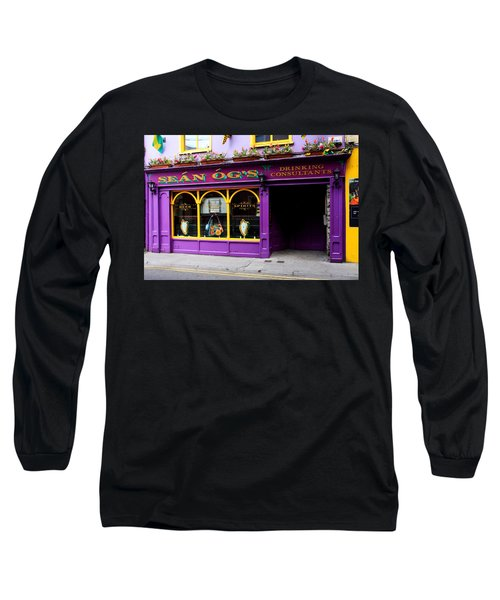 Colorful Irish Pub Long Sleeve T-Shirt