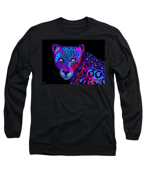 Colorful Jaguar Long Sleeve T-Shirt