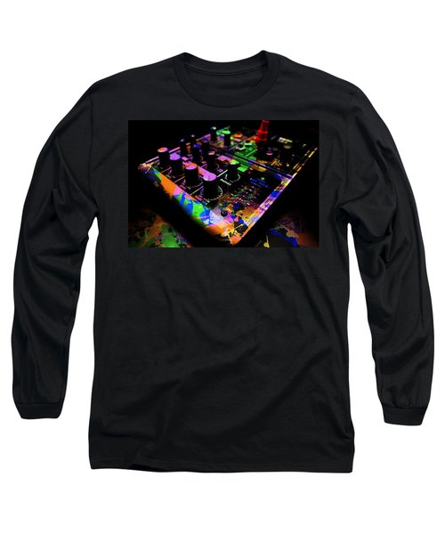 Long Sleeve T-Shirt featuring the photograph Mixing Colors by Aaron Berg