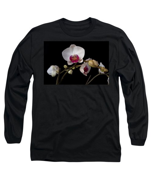 Colorful Moth Orchid Long Sleeve T-Shirt