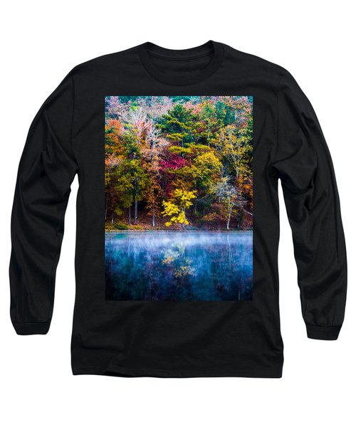 Colors In Early Morning Fog Long Sleeve T-Shirt by Parker Cunningham
