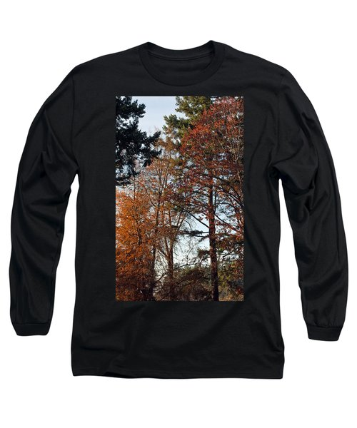 Long Sleeve T-Shirt featuring the photograph Colors Of Autumn by Tikvah's Hope