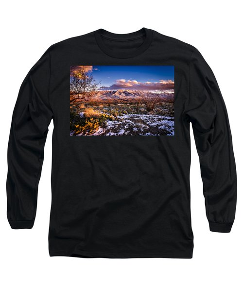 Long Sleeve T-Shirt featuring the photograph Colors Of Winter by Mark Myhaver
