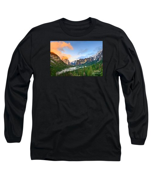 Colors Of Yosemite Long Sleeve T-Shirt by Jamie Pham