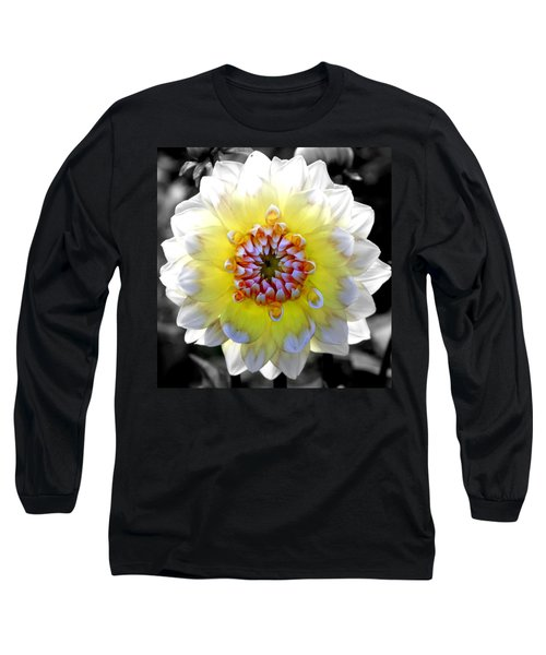 Colorwheel Long Sleeve T-Shirt by Karen Wiles
