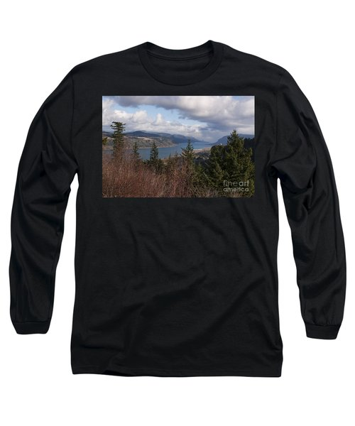 Long Sleeve T-Shirt featuring the photograph Columbia Gorge by Belinda Greb