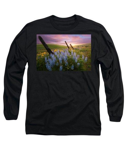 Columbia Hills Sunset Long Sleeve T-Shirt