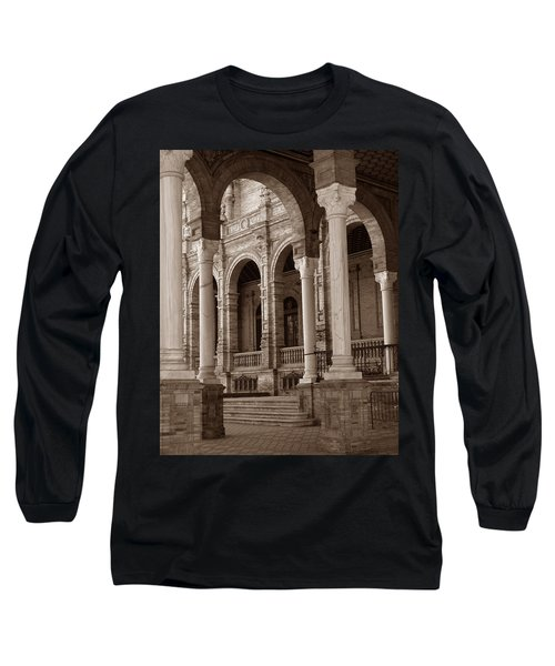 Columns And Arches Long Sleeve T-Shirt