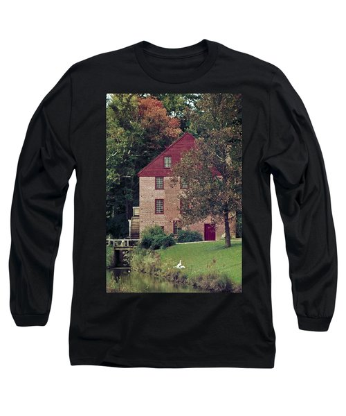 Colvin Run Mill Long Sleeve T-Shirt by Greg Reed