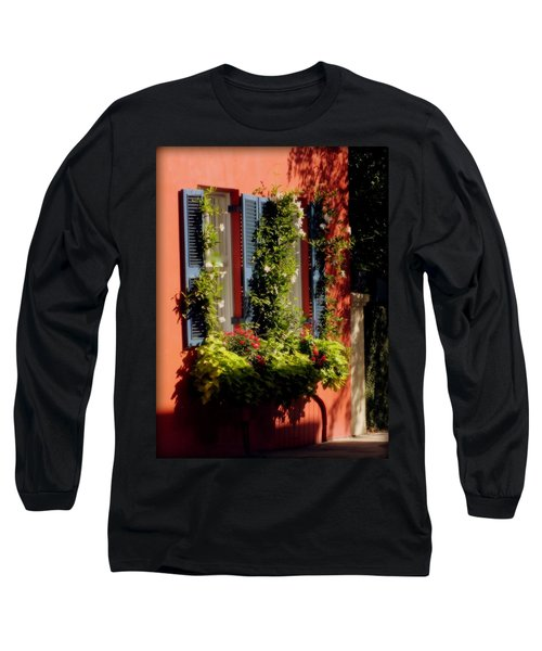 Come To My Window Long Sleeve T-Shirt by Karen Wiles