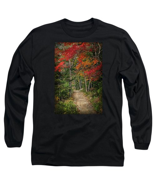 Long Sleeve T-Shirt featuring the photograph Come Walk With Me by Priscilla Burgers