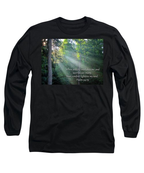Comfort Long Sleeve T-Shirt by Greg Simmons