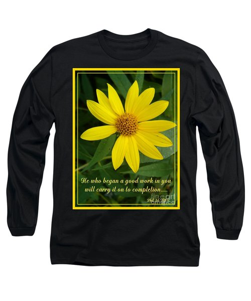 Completion Long Sleeve T-Shirt