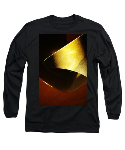 Composition In Gold Long Sleeve T-Shirt