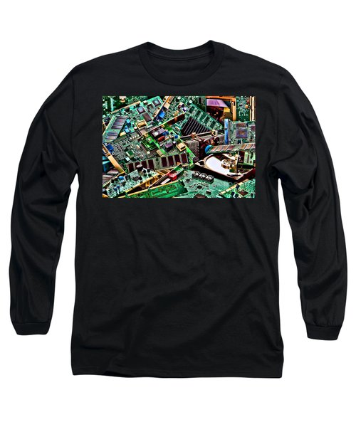 Computer Parts Long Sleeve T-Shirt