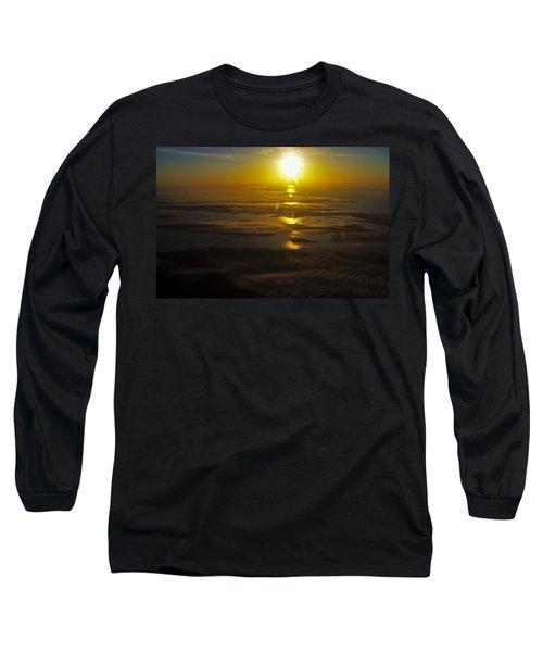 Conanicut Island And Narragansett Bay Sunrise II Long Sleeve T-Shirt