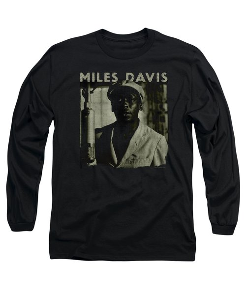 Concord Music - Miles Portrait Long Sleeve T-Shirt