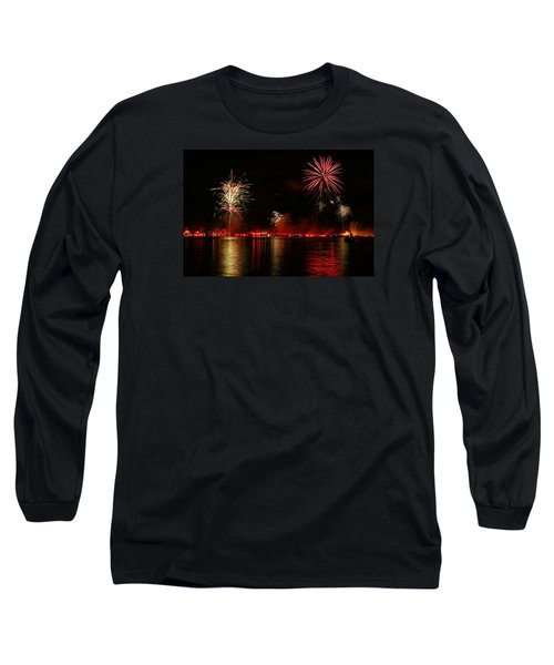 Conesus Ring Of Fire Long Sleeve T-Shirt by Richard Engelbrecht