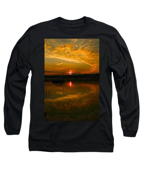 Conesus Sunrise Long Sleeve T-Shirt