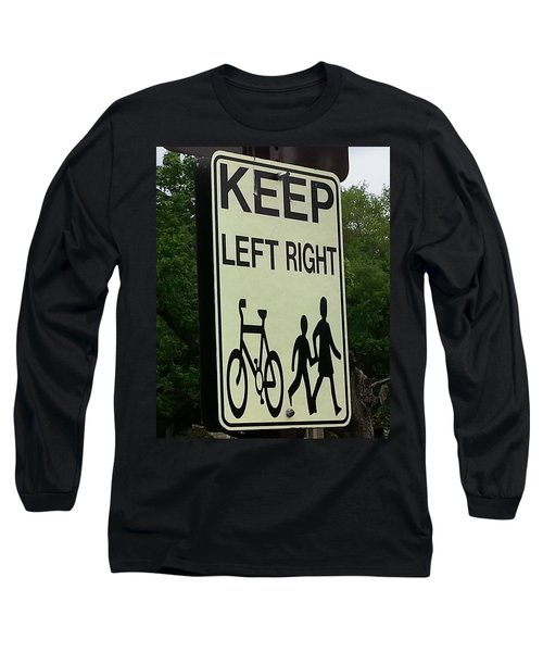 Confusion Long Sleeve T-Shirt by Caryl J Bohn