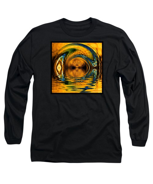 Confusion Of Distortion  Long Sleeve T-Shirt by Elizabeth McTaggart