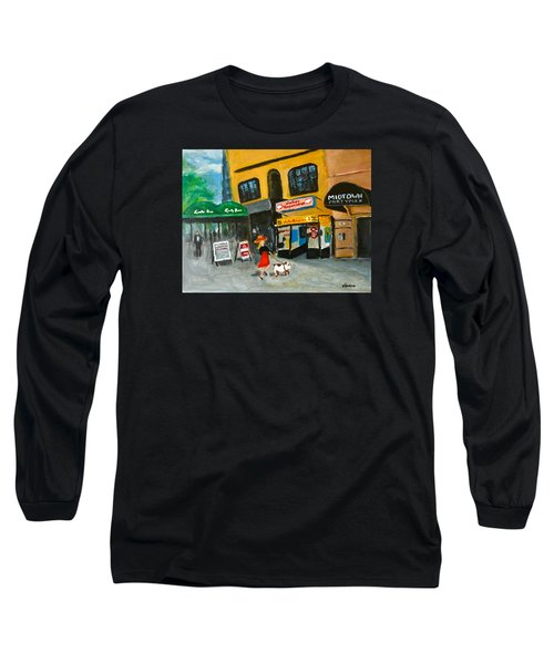 Connecticut Avenue Dc Long Sleeve T-Shirt by Victoria Lakes