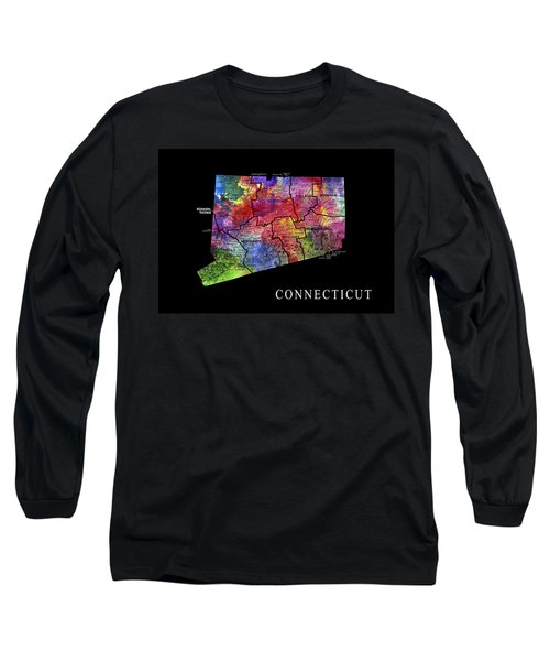 Connecticut State Long Sleeve T-Shirt