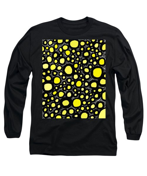 Connectivity In Yellow Long Sleeve T-Shirt