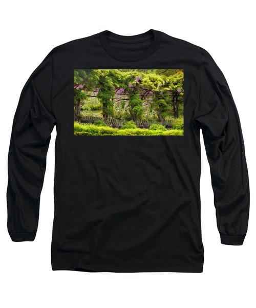 Conservatory Gardens Long Sleeve T-Shirt