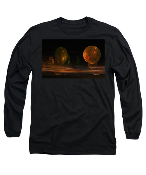 Consumed From Within Long Sleeve T-Shirt by GJ Blackman