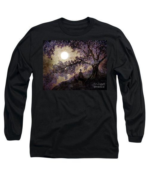 Contemplation Beneath The Boughs Long Sleeve T-Shirt