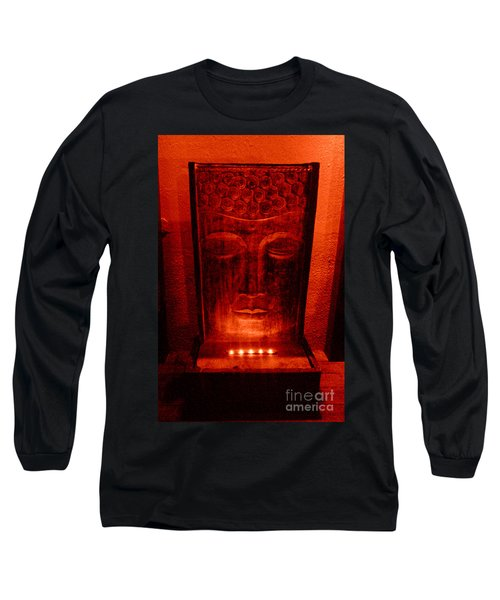 Long Sleeve T-Shirt featuring the photograph Contemplation by Linda Prewer