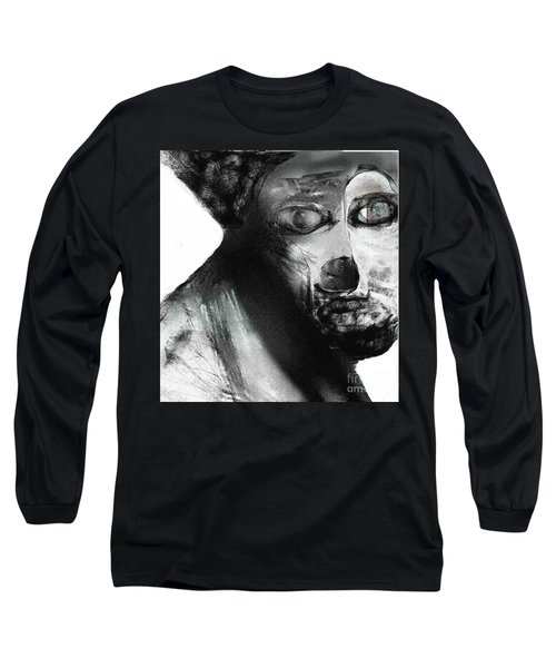 Contemporary Clown Long Sleeve T-Shirt