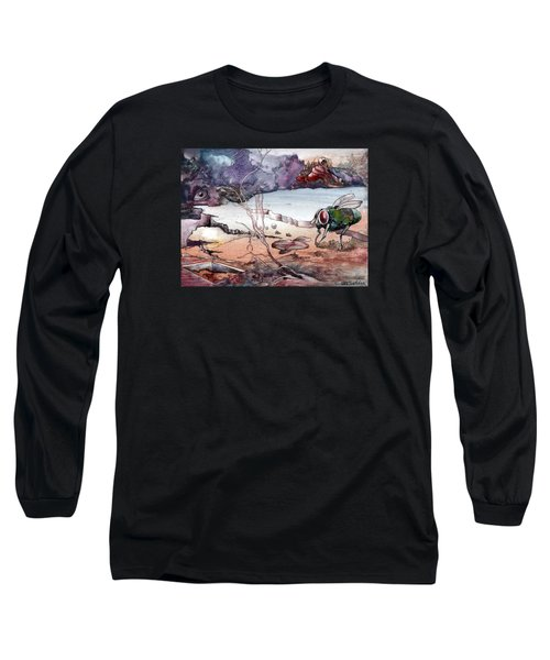 Contest Long Sleeve T-Shirt by Mikhail Savchenko