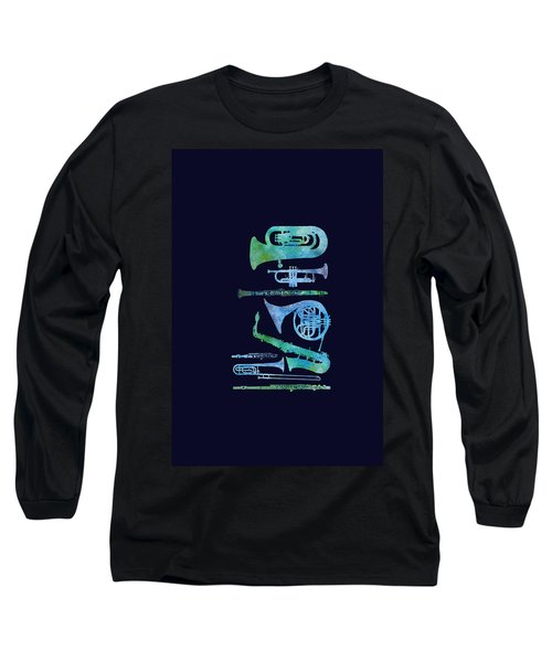 Cool Blue Band Long Sleeve T-Shirt