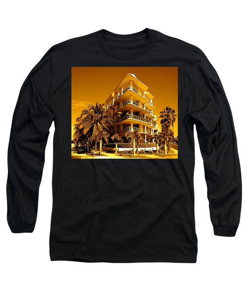 Cool Iron Building In Miami Long Sleeve T-Shirt