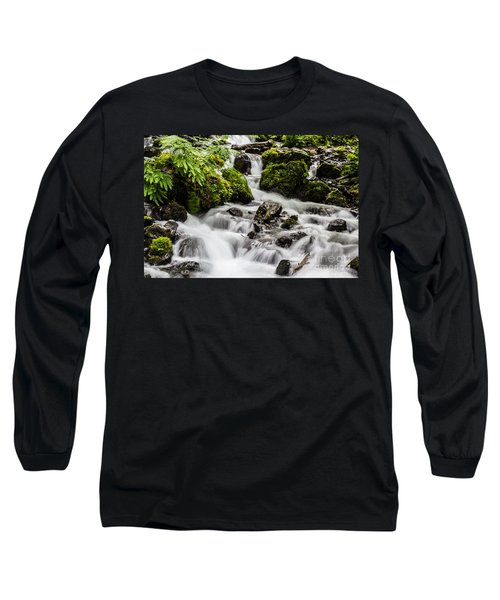 Long Sleeve T-Shirt featuring the photograph Cool Waters by Suzanne Luft